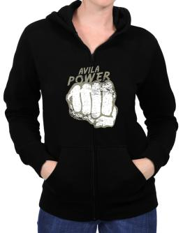 Avila Power Zip Hoodie - Womens