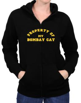Property Of My Bombay Zip Hoodie - Womens