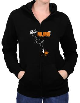 Calypso It Makes Me Feel Alive ! Zip Hoodie - Womens