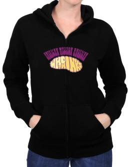 American Mission Anglican Who Thinks Zip Hoodie - Womens