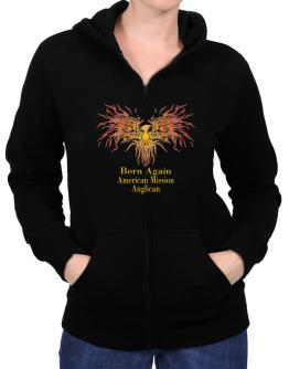Born Again American Mission Anglican Zip Hoodie - Womens