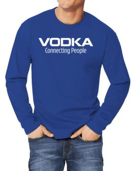 Vodka Connecting People Long-sleeve T-Shirt