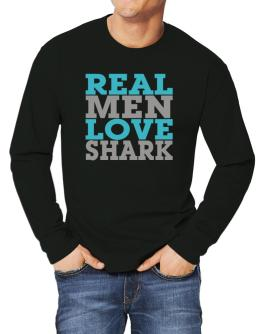 Real Men Love Shark Long-sleeve T-Shirt