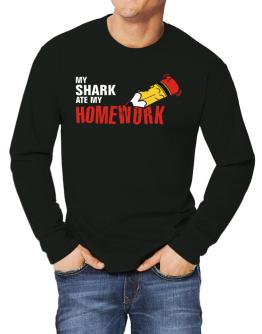 My Shark Ate My Homework Long-sleeve T-Shirt
