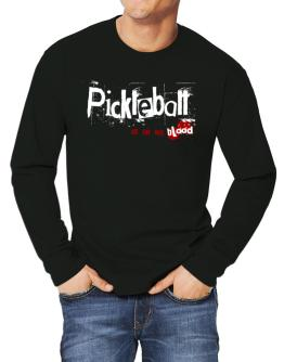 Pickleball Is In My Blood Long-sleeve T-Shirt