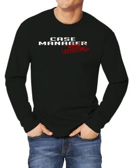 Case Manager With Attitude Long-sleeve T-Shirt