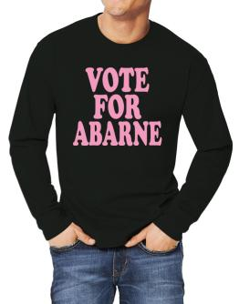 Vote For Abarne Long-sleeve T-Shirt