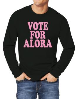 Vote For Alora Long-sleeve T-Shirt