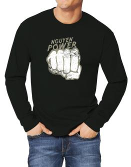 Nguyen Power Long-sleeve T-Shirt