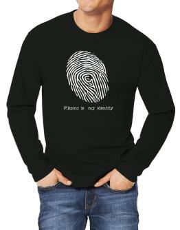 Filipino Is My Identity Long-sleeve T-Shirt