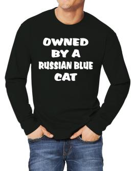 Owned By S Russian Blue Long-sleeve T-Shirt