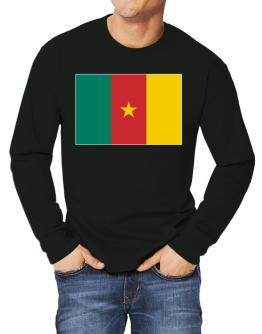 Cameroon Flag Long-sleeve T-Shirt