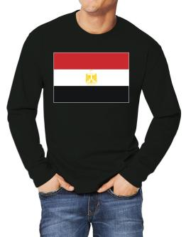 Egypt Flag Long-sleeve T-Shirt