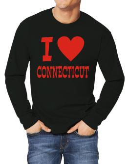 I Love Connecticut Long-sleeve T-Shirt