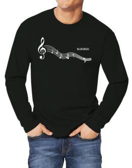 Bluegrass - Notes Long-sleeve T-Shirt
