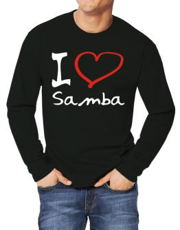 I Love Samba Long-sleeve T-Shirt
