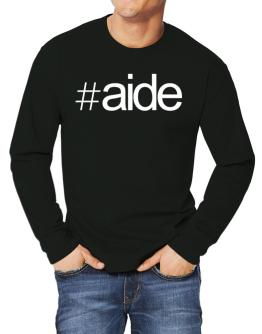 Hashtag Aide Long-sleeve T-Shirt
