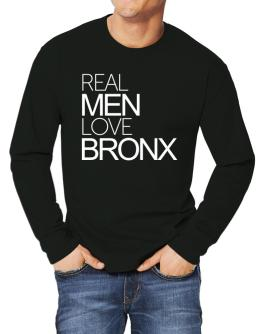 Real men love Bronx Long-sleeve T-Shirt