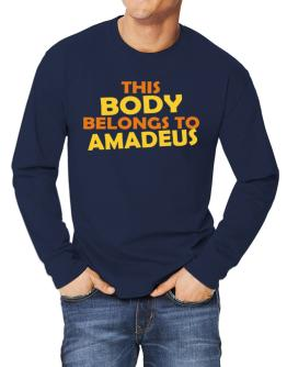This Body Belongs To Amadeus Long-sleeve T-Shirt