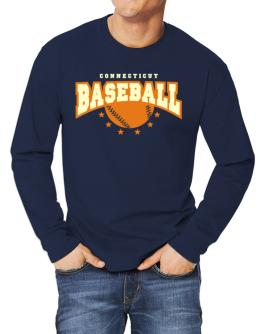Connecticut Baseball Long-sleeve T-Shirt