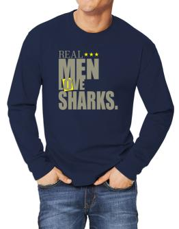 Real Men Love Sharks Long-sleeve T-Shirt