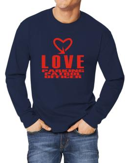 Love Parking Patrol Officer cool style Long-sleeve T-Shirt