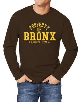 Property Of Bronx - Drunken Department Long-sleeve T-Shirt