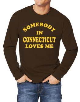Somebody Connecticut Long-sleeve T-Shirt