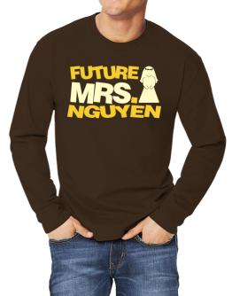 Future Mrs. Nguyen Long-sleeve T-Shirt
