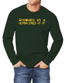 Owned By A California Spangled Cat Long-sleeve T-Shirt