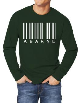 """ Abarne - Single Barcode "" Long-sleeve T-Shirt"