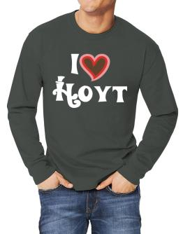 I Love Hoyt Long-sleeve T-Shirt
