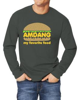 Amdang My Favorite Food Long-sleeve T-Shirt
