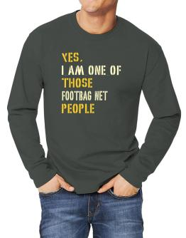 Yes I Am One Of Those Footbag Net People Long-sleeve T-Shirt
