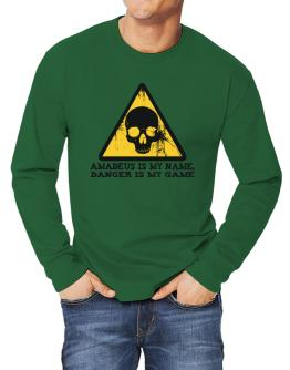 Amadeus Is My Name, Danger Is My Game Long-sleeve T-Shirt