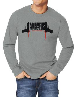 Amadeus - Blood And Bullets Long-sleeve T-Shirt