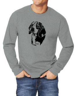 Beagle Face Special Graphic Long-sleeve T-Shirt