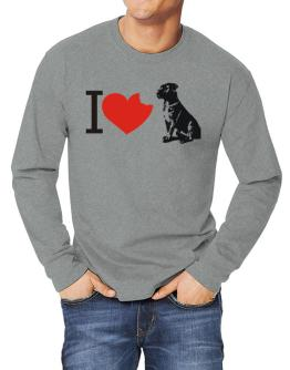 I love Cane Corsos Long-sleeve T-Shirt