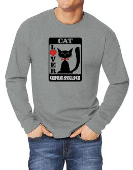 Cat Lover - California Spangled Cat Long-sleeve T-Shirt