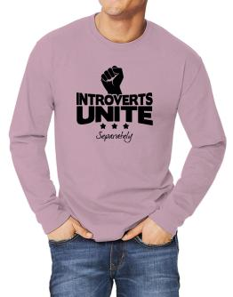 Introverts Unite Separately Long-sleeve T-Shirt