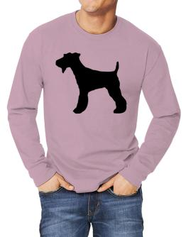 Fox Terrier silhouette Long-sleeve T-Shirt