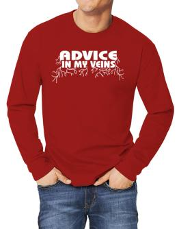 Advice In My Veins Long-sleeve T-Shirt