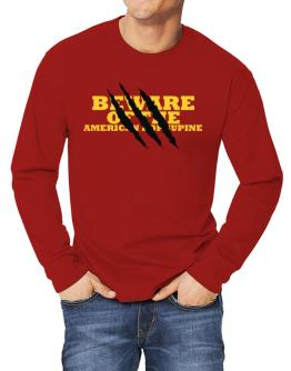 Beware Of The American Porcupine Long-sleeve T-Shirt