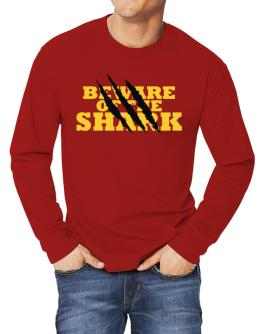 Beware Of The Shark Long-sleeve T-Shirt