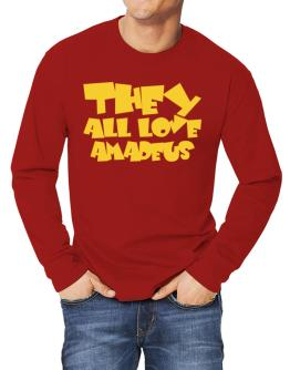 They All Love Amadeus Long-sleeve T-Shirt
