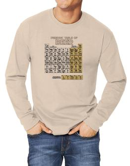 Periodic Table of Beer Long-sleeve T-Shirt