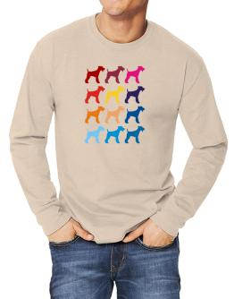 Colorful Fox Terrier Long-sleeve T-Shirt