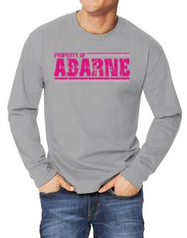 Property Of Abarne - Vintage Long-sleeve T-Shirt