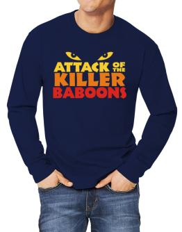 Attack Of The Killer Baboons Long-sleeve T-Shirt