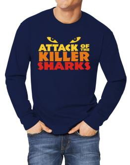 Attack Of The Killer Sharks Long-sleeve T-Shirt